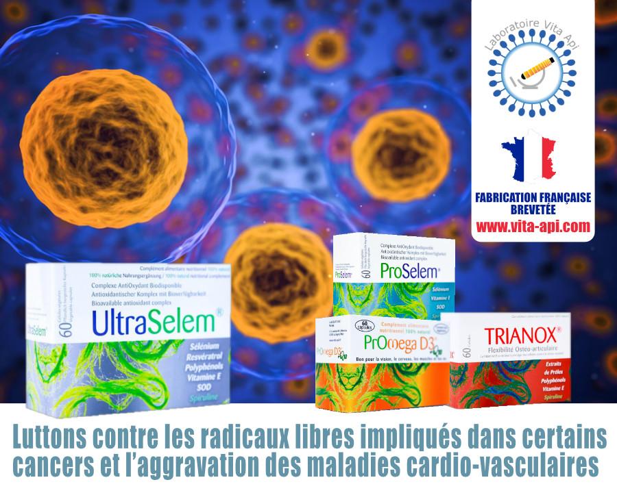 LES RADICAUX LIBRES IMPLIQUÉS DANS LA SURVENUE DE CERTAINS CANCERS ET L'AGGRAVATION DES MALADIES CARDIO-VASCULAIRES